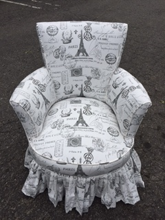 Chair with Skirt... AFTER