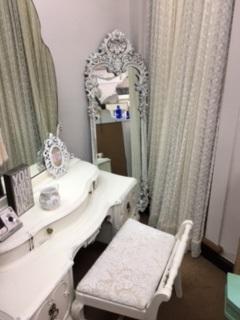 Tall Ornate Mirror