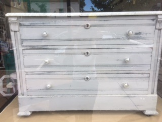Marble Top 3 Drawer Cabinet