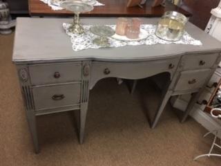 5 Drawer Desk ...  Vanity