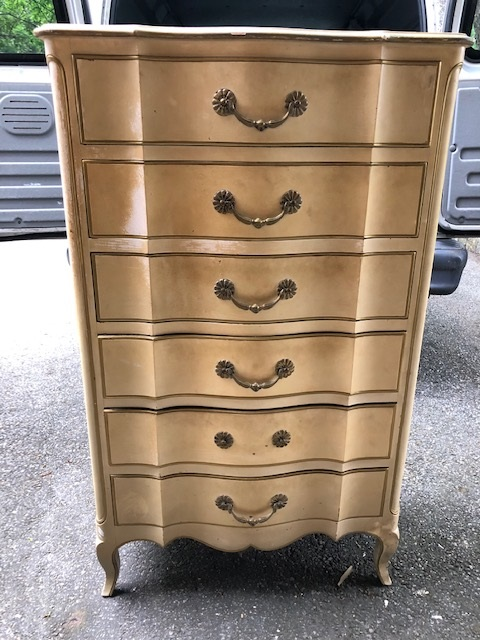 6 Drawer French Provincial Chest