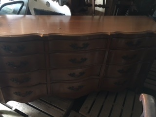 12 Drawer French Provincial Dresser