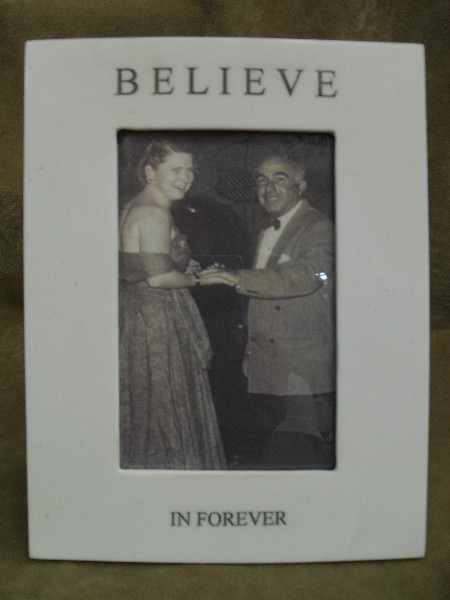 BELIEVE IN FOREVER frame