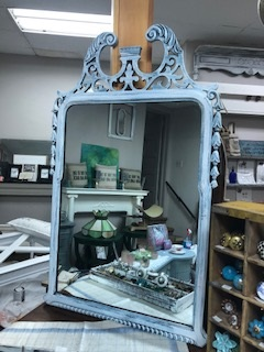 Distressed Beachy Mirror