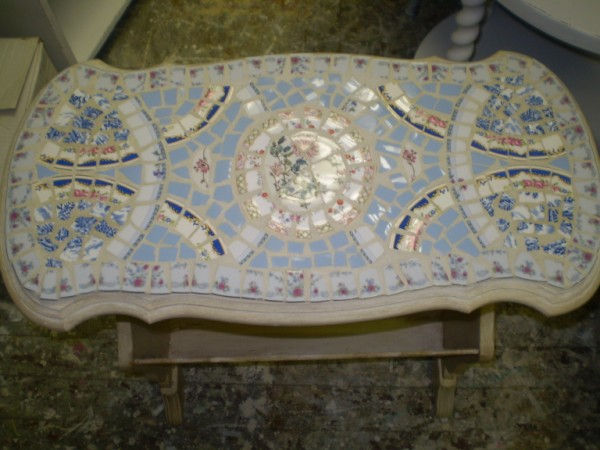 Dee's Mosaic End Table