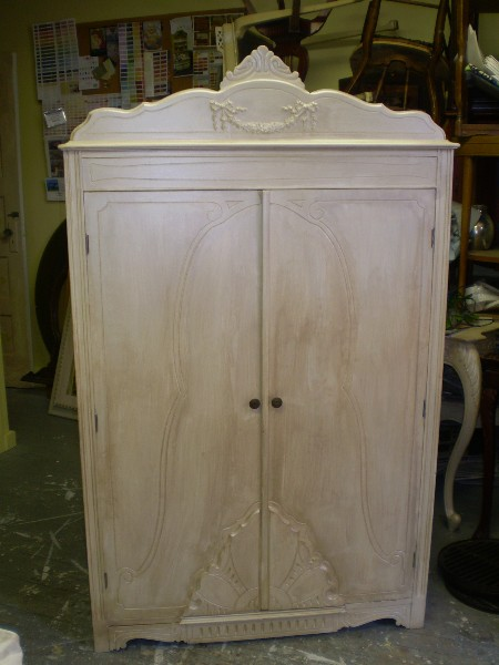 Armoire....  before