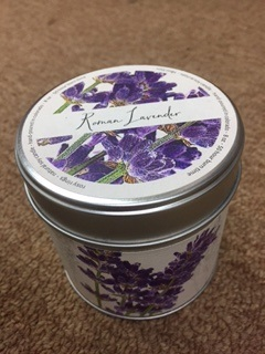 Lavandar Rosy Rings Candle in a Tin