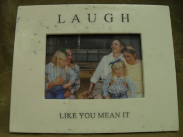 LAUGH LIKE YOU MEAN IT