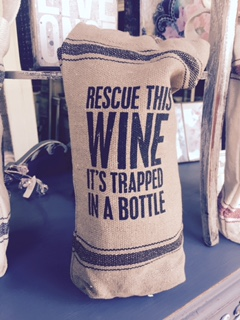 Wine Bag..... RESCUE THIS WINE