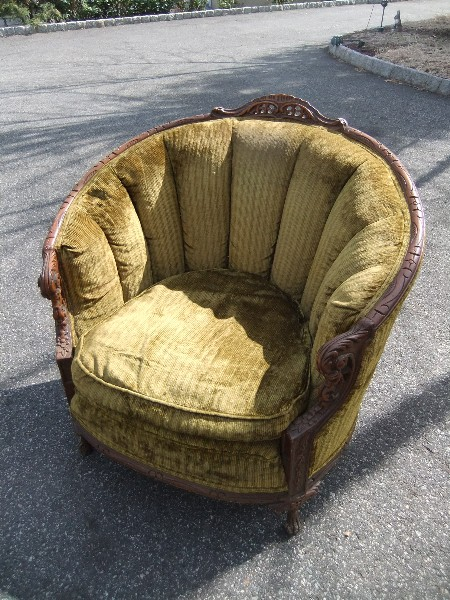 Vintage Barrel Chair