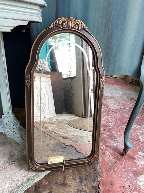 Antique Mirror..  Curved Top