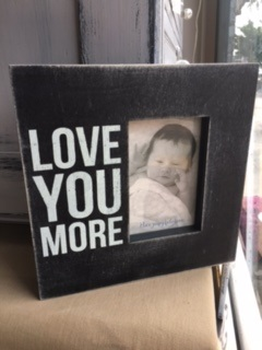 BOX FRAME...  LOVE YOU MORE