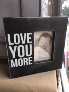 BOX FRAME...  LOVE YOU MORE
