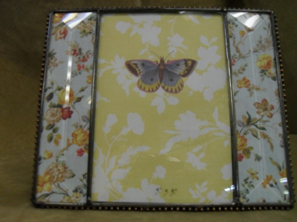 Butterfly Glass Picture Frame