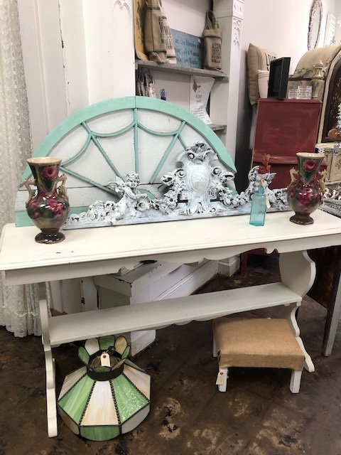 Painted Console  Sofa Table