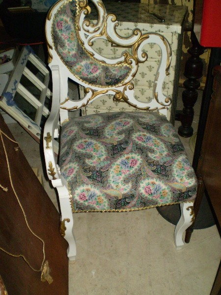 The Crazy Chair.. Before