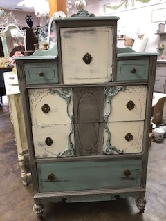Depression Chest of Drawers