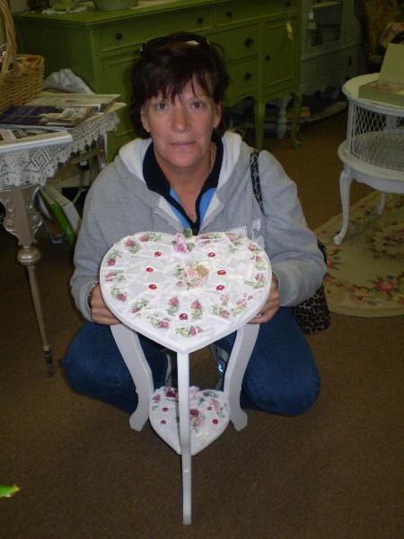 Diane's Heart Table ( advanced class)