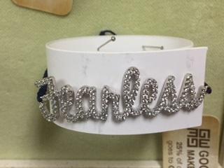 Inspirational Bracelet... FEARLESS
