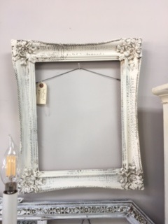 Vintage Frame with Carved Edges