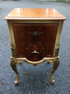 2 Drawer French Night Stand
