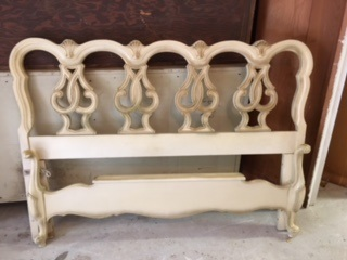Queen Size French Provincial Bed Frame