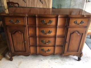 Small French Provincial Sideboard...  TV STAND ...  Bathroom Vanity