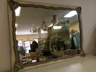 French Provincial Large Mirror