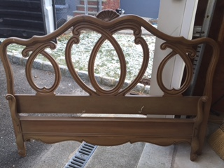 French Provincial Queen Bed