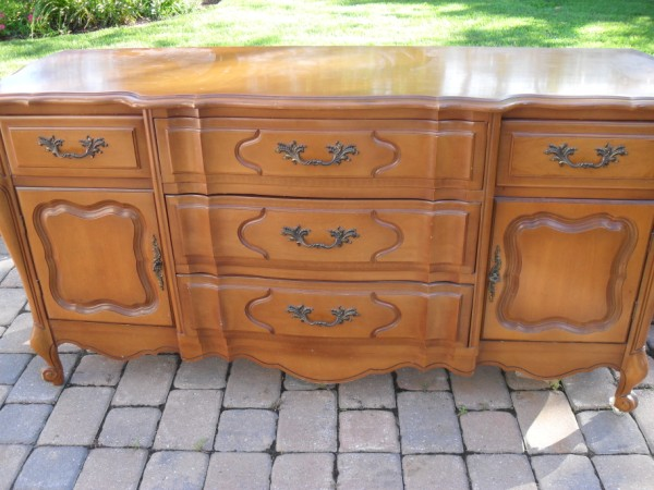 French Provincial Sideboard...Before