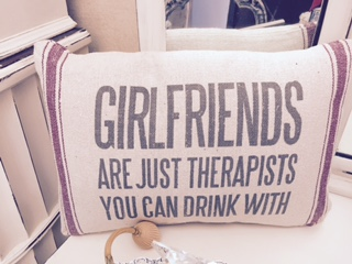 GIRLFRIENDS ARE THERAPISTS