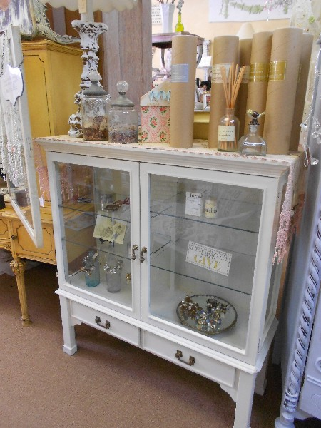 Small Glass Cabinet  Display Case