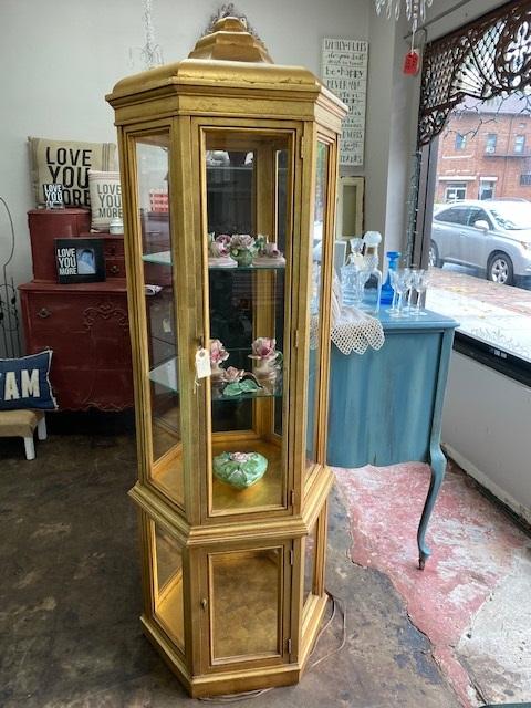 Vintage GOLD Curio