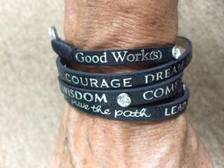 Wrap Inspirational Bracelet