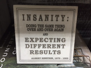 INSANITY...