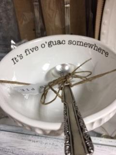 Guacamole Dish