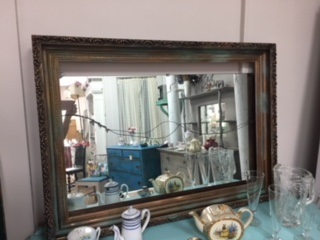 Large Ornate Frame in Metallic  Patina