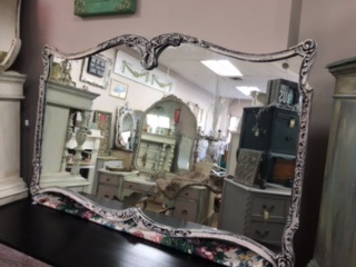 Large Vintage Mirror... Shaped and Ornate