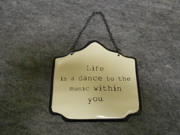 Life is a Dance to the Music Within