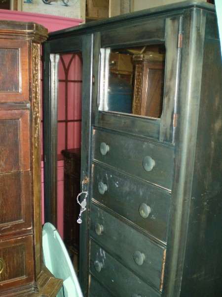 Armoire with 2 Mirrors / Before