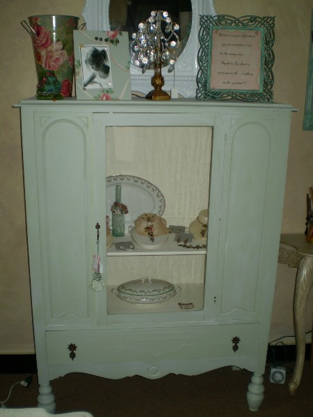 Low China Cabinet.... After