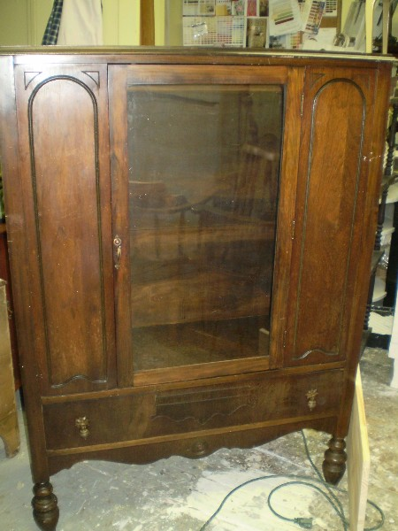 Low China Cabinet...Before