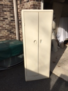 Tall Skinny Metal Cabinet