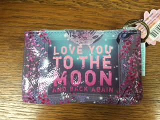 Oil Cloth Change Purse Love You To The Moon And Back