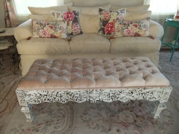 Ornate Base to a Coffee Table.. After