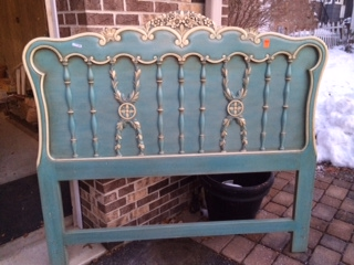 Ornate Full Headboard