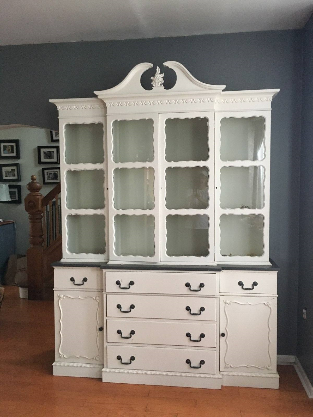 VERY Large.. Hutch... China Cabinet... Book Case....  Display Case