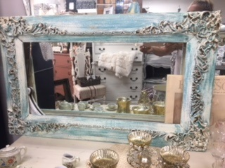Vintage Ornate Painted Frame