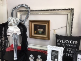 Painted Distressed Frame