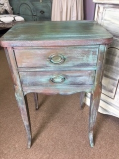 Patina 2 Drawer Night Stand... End Table